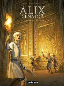 Alix Senator tome 5, couverture