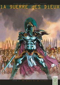 La Guerre des dieux tome 1, couverture