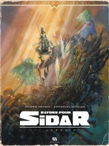 Rayons pour Sidar tome 1, couverture