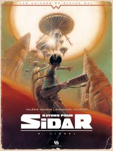 Rayons pour Sidar tome 2, couverture