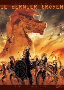 Le Dernier Troyen tome 1, couverture