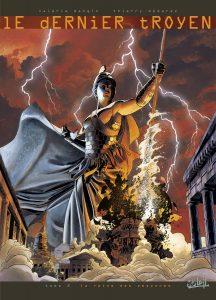 Le Dernier Troyen tome 2, couverture
