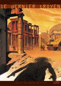 Le Dernier Troyen tome 2, projet de couverture