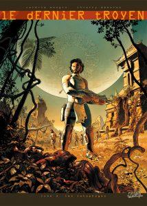 Le Dernier Troyen tome 3, couverture