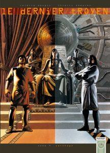 Le Dernier Troyen tome 4, couverture
