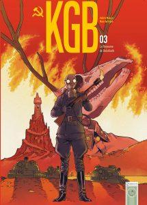 KGB tome 3, couverture