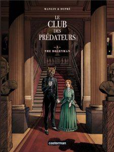 Le Club des prédateurs tome 1, couverture
