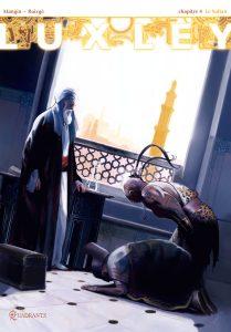 Luxley tome 4, couverture