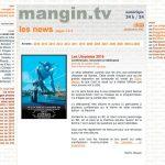 L'ancien site mangin.tv